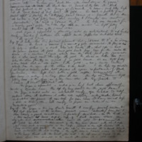 Hand-written description of the illustrations within the Waterford Charter roll of 1371