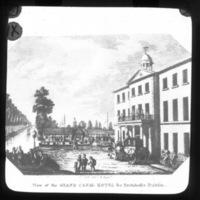 Print of Grand Canal Hotel, Portobello, Dublin.