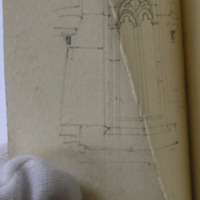 East window of St Catherine's Chapel Nook Bay Ballyhack