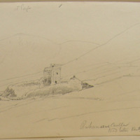 Rahanane [Rahinnane] Castle; Road between Ventry and Ballybenter; co Kerry. July 1856