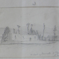 Old church at Newcastle Co. Tipperary. 1st August 1850