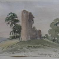 Scurlockstown Castle Co. W. Meath. Sheet 8/4. June 1864. near Drumcree