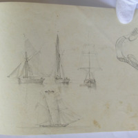 untitled. Ships and sloops.