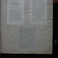 Advertisement for illuminated copies of the Waterford Charter Roll, based on Du Noyer's tracings