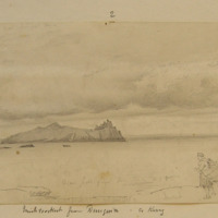 Inishtooskert from Dunquin, co Kerry. 20th August 1856