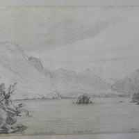 Muckross Lake; the Devil's  Island; the Eagles Nest mt