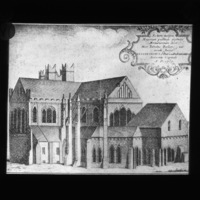 Engraving of St. Patrick's Cathedral
