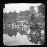 Pond in the People's Flower Garden at the Phoenix Park