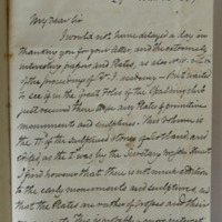 [2 letters from Forbes Leslie to Du Noyer, both from Rothie Norman, Aberdeenshire, dated on 29 Mar 1867 and 01 Feb 1868]