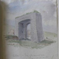 Western gateway of the ancient Town at Fore Co. Westmeath