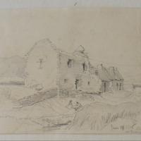 Kilmalkedar Dingle. Old dwelling House 28 June 1856