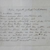 Mileri McGrath archiepi cathellensis [latin inscription] April 28 1843