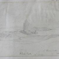 Kilcoe Castle, 20th Oct 54. Roaring Water Bay