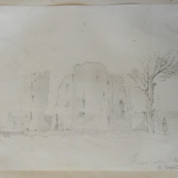 Ferns Castle Co. Wexford. Sept 21 1848