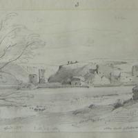 Ballybeg Abbey. April 1856. Abbey south of Buttevant 3/4 mile