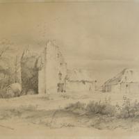 Castle Fennor Slane. George V Du Noyer Delt. May 1846