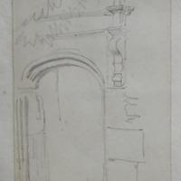 Door of Dromaneen Castle, Mallow