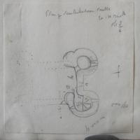 Plan of Skurloughstown Castle Co. W. Meath. Sheet 8/4