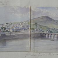 Killaloe from the Railroad; Killaloe from the Bird Hill road, April 1862 (continuation i_00802001)