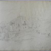 Castle Haven, old castle, Co. Cork, 19 Oct 54