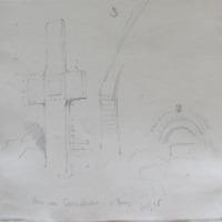 Stone cross Kilmalkedar Co. Kerry July 1856