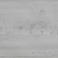 Abbeyshrule looking S.W. Co. Longford. 30 Jun3 1864