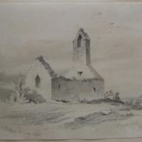 St Fintans Church; Howth; Geo. V. Du Noyer. Delt.  May 1846