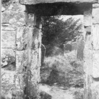 Doorway, Cathedral of Saint Peter and Saint Paul, Glendalough, Co. Wicklow