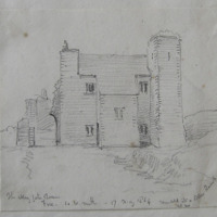 The Abbey Gate Tower. Fore Co. W. Meath. 17 May 1864