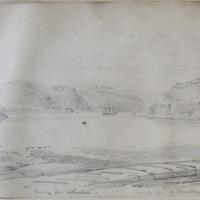 Passage from Arthurstown. Sept  1862