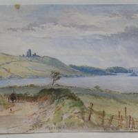 Ross Castle Lough Sheelin. 22 Sept 1864