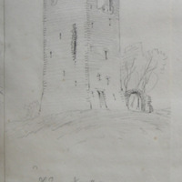 The tower of Newcastle Co. W Meath Sheet 3/1 near Castlepollard 14 May 1864