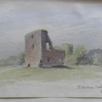 Billistown Castle Co. W Meath, near Delvin. Sheet 13/2. June 1864