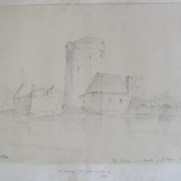 The bridge and castle of Golden Co. Tipperary. 30 Oct 1840