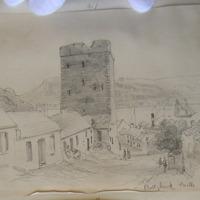 Ballyhack Castle. August 1862