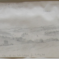 View of Suir below Waterford from Faithleg Hill. Sept. 1862