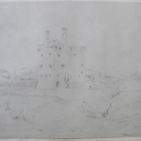 Termon McGrath Castle, Co. Donegall, September 4th 1841, looking W.N.W.