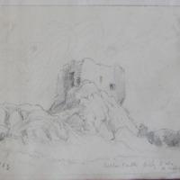 Cullen Castle Co. Waterford. Looking NE. Sheet 17/3. June 1863
