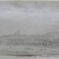 Killaha Castle from Brewsterfield House; Killarney; looking South; May 15th 1855