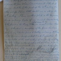 Letter: Maryville Blackrock Cork. May 5th 1851