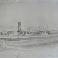 Part of the castle of Derinlaur, Sliabh nabawn. Near Clonmel. Oct 10 1840. Co. Waterford