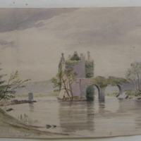Carrickadrohid Castle; Co. Cork; Aug 1854