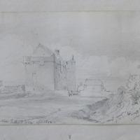 Dungulph Castle,Fethard, Co. Wexford, April 1850