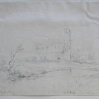 Kindelstown Castle, Co. Wicklow; Geo: DuNoyer, Delt Oct 1843