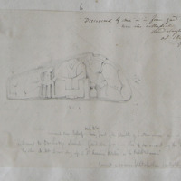 Discovered by me in the farm yard near the Cathedral Glendalough. Oct 1842 GVD