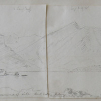 Cummeenduff Lake, Black Valley, Killarney; June 29th 1855