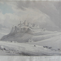 The Castle of Dunamase. Queens Co.