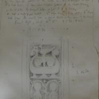 at old church of Killary Co. Meath Sheet. Sheet 12/2. July 1866. [high cross shaft]