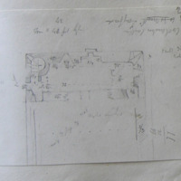 Coolamber Castle Co. Longford. Sheet 16/34. [annotated plan]