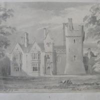 Clontarf Castle. (?M Vernons. Geo: Du Noyer Delt. July 1840